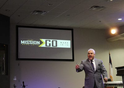 Pastor Wiley Mission Go